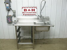 50 Stainless Steel Heavy Duty Left Side Dirty Hobart Dish Washer Machine Table