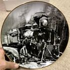 BNSF Railway Safety Award Plate 2002 Green River Crossing 1885 Railroad Train