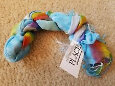 Girl Photo-Real Pegasus Scarf tcp The children's place unicorn horse rainbow NWT