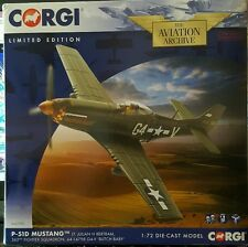Corgi Aviation P-51D Mustang 362nd Fighter Sqn 'Butch Baby' AA27701 1:72 NEW