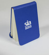 SIA Approved Contractor Notebook