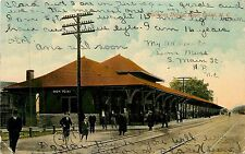 North Carolina, NC, High Point, Southern Depot 1913 Postcard