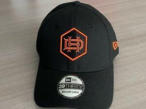 Houston Dynamo FC MLS New Era 3930 Flex Fit Hat Men's Size M/L