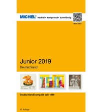Michel Deutschland Junior Briefmarkenkatalog 2019, mit Altdeutschland, NEU