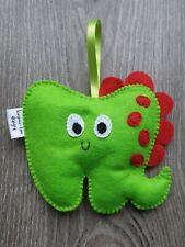 Tooth Fairy Pillow dinosaur new handmade beautiful gift for boy