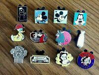 Walt Disney Trading Pins ~  Hidden Mickey  Lot of 12