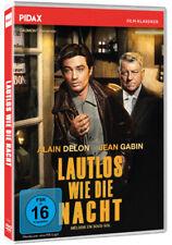Lautlos wie die Nacht * DVD Krimi Thriller Jean Gabin und Alain Delon * Pidax