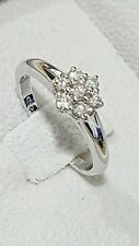 Anillo de oro 18 ct y diamantes quilates 0,50 super descuento compromiso boda