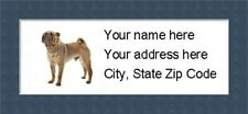 """Chinese Shar Pei Return Address Labels  - Personalized """"BUY 3 GET ONE FREE"""""""