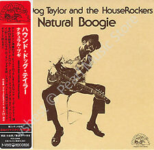 HOUND DOG TAYLOR NATURAL BOOGIE CD MINI LP OBI Theodore Roosevelt Taylor new