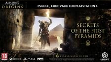 PS4  ASSASSINS CREED ORIGINS , SECRETS OF THE FIRST PYRAMIDS  DLC , PLAYSTATION