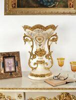 Celine Pedestal Bowl Accessories Vases Urns Bowls Ceramic Multi Colored