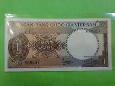 South Vietnam 1 Dong 1964 (aUNC) 1 越南盾 K1 668857