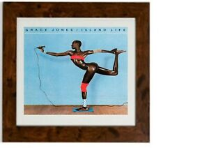Grace Jones Island Life Framed Print Album Picture Art