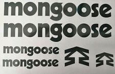 Mongoose Decals Stickers Bike Car Van Windows Panel Toolbox Dh