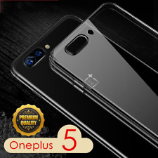 NEW!For Oneplus 5T Soft TPU Crystal clear transparent case Ultra-thin back cover