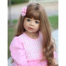 "NWT RARE Masterpiece Dolls Coco Brunette Blue Eyes By Monika Levenig 39"""