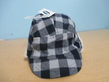 OLD NAVY BOYS FLEECE WINTER HAT BLUE AND STRIPED MULTI-COLOR SIZES 0-6M  12-18M
