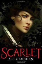 A C gaughen ___ Scarlet ___ __ Nuovo di Zecca FREEPOST UK