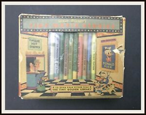 ⭐ Disney's Tiny Movie Stories - Simon and Schuster - 1950 - DISNEYANA.IT ⭐