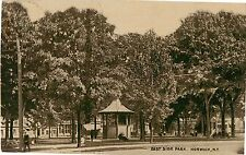 A View of the Gazebo in East Side Park, Norwich NY 1910