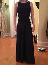 prom dress, black, size 4, Dave and Johnny