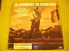 2*LP LA COMMUNE EN CHANTANT-MOULOUDJI....VARIOUS STEC LP89