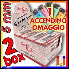 480 Microbocchini David Ross Slim 5mm sigarette 48 blister x10 micro bocchini