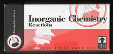Inorganic Chemistry Reactions - Vis-Ed Cards - 1990 (1997, Cards)