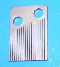 18 Note Steel Comb for a Music Box Movement