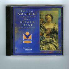 CD BONONCINI AMARILLI GERARD LESNE IL SEMINARIO MUSICALE