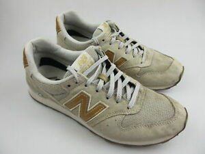Women's NEW BALANCE '996' Sz 8 US Shoes Grey Gold VGCon | 3+ Extra 10% Off