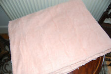 Pink 100% Cotton Bedspread Made in England Single 250 x 186 cm