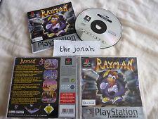 Rayman 1 original PS1 (COMPLETE) platinum platform rare Sony PlayStation