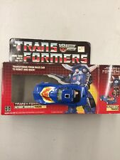 MOSC/MOC 1985 Transformers Autobot Tracks With Box Never Used Display Only
