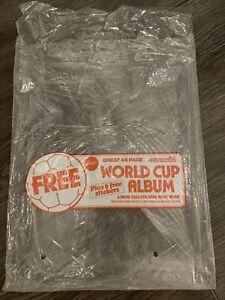 Panini 1986 - Mexico 86 world cup Sticker Album - Promotional Plastic Bag.