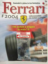 Ferrari Formula 1 F2004 De Agostini Kyosho a Scoppio Ricambio N°22 04022 Nuovo