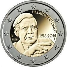 5 ZECCHE 2 euro GERMANIA  2018 - SCHMIDT TUTTE E 5 LE ZECCHE