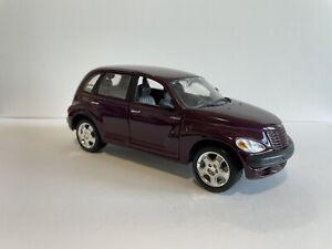 Maisto 2000 Chrysler PT Cruiser 1:24 Purple