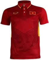 Authentic Vietnam National Football Soccer Team Jersey Shirt Red 2017/18 Player