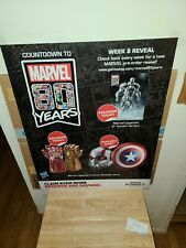 """MARVEL COMICS; MARVEL 80 YEARS PROMOTIONAL POSTER 22""""×28"""""""