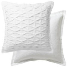 Private Collection Tristan White European Pillowcase