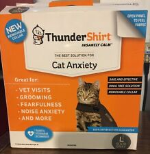New Look Thundershirt Cat Anxiety Jacket Gray Large L