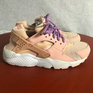 Nike Air Huarache Women's Size 8.5 Running Shoes Pink Athletic Training Sneaker
