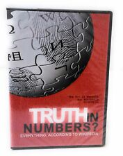NEW ~ Truth in Numbers Everything, According to Wikipedia (DVD, 2014)