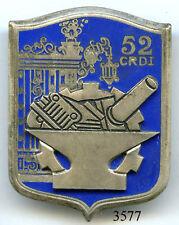 3577 - MATERIEL - 52e C.R.D.I
