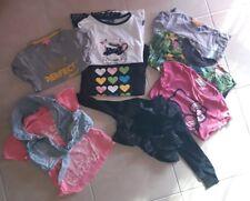 Lotto stock Abbigliamento bambina 2 3 4 5 Anni T Shirt 9 Pezzi .