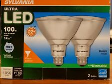 2 Pack Sylvania 74454 Led14Par38/Dim/850/Fl40/G l/W/Rp2 14W Dimmable In/Outdoor