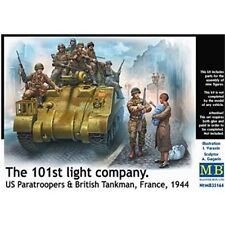 Masterbox 1:35 scale The 101st Light company. US Paratroopers figures MAS35164