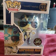 Funko Pop Movies Shape of Water Amphibian Man #637 Real Limited Glow Chase